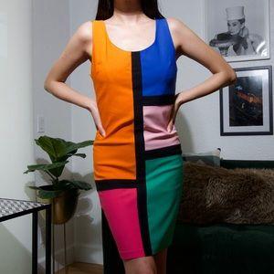 Dresses & Skirts - Color Blocked Dress